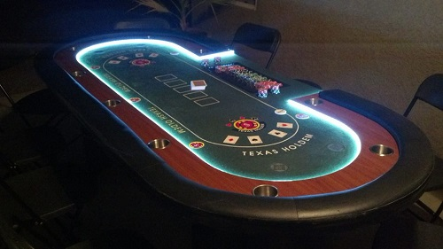 Poker table top san diego