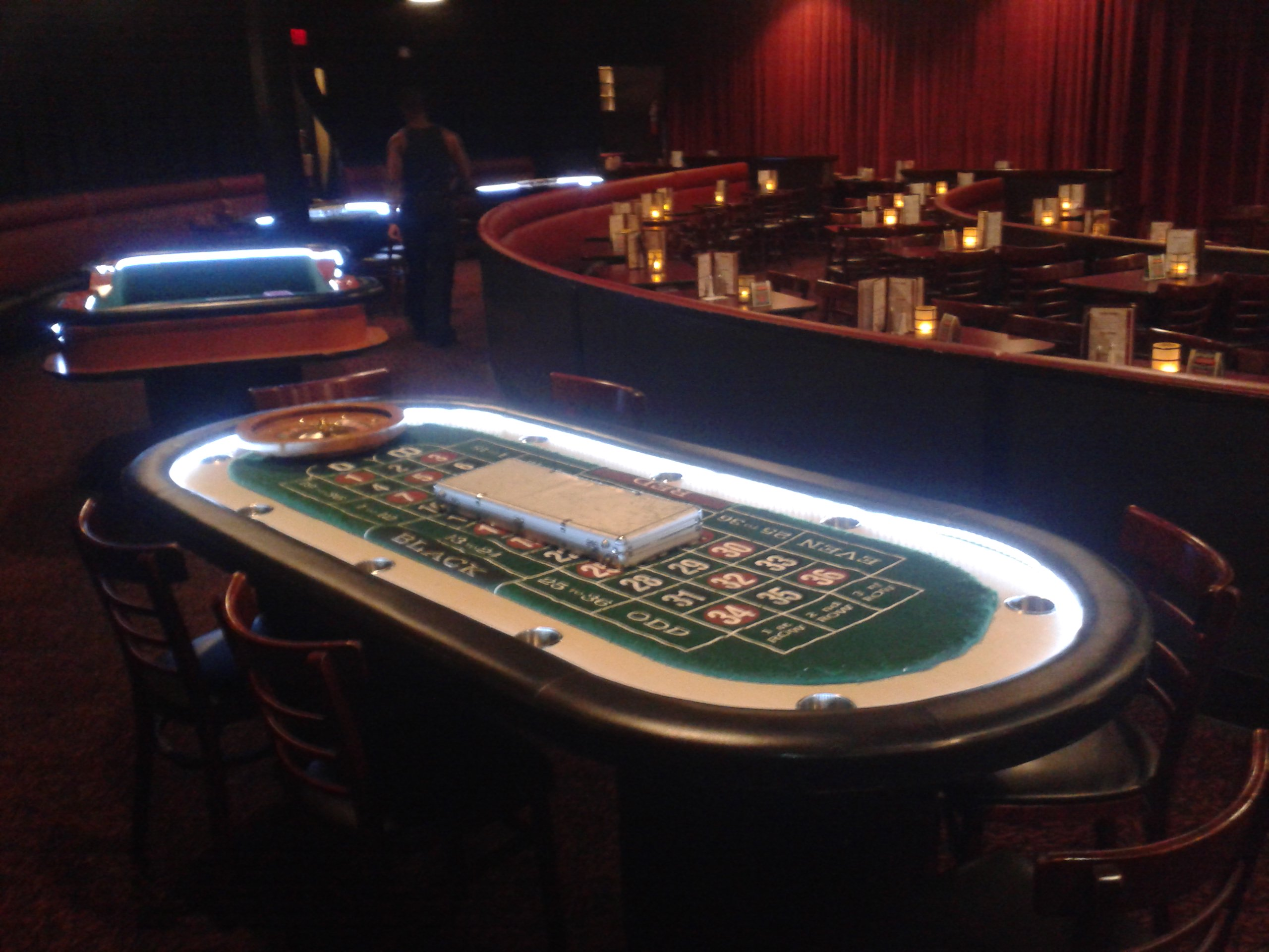 Roulette tables in southern california