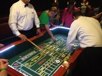 Craps Table top view