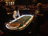 Roulette Table top view
